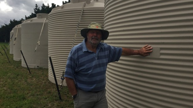 Earthquake damaged water tanks replaced in Ward