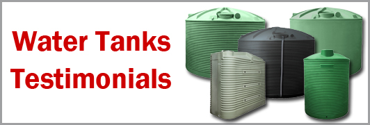 Water Tanks Testimonials