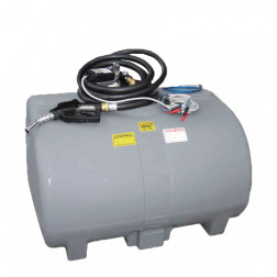 H: Promax Diesel Tank 1000 lt Unit - with 60 LPM 12V Pump
