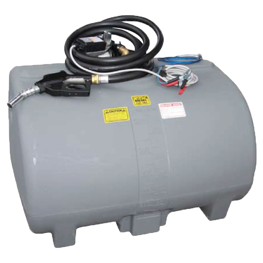 L: Promax Diesel Tank 2000 lt Unit - with 60 LPM 12V Pump