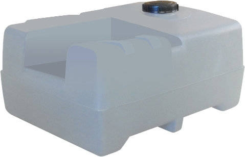 XPRESS Diesel Tank 200lt Low Profile - Tank Only