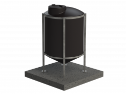 Xpress Cone Base Tank - 1000L
