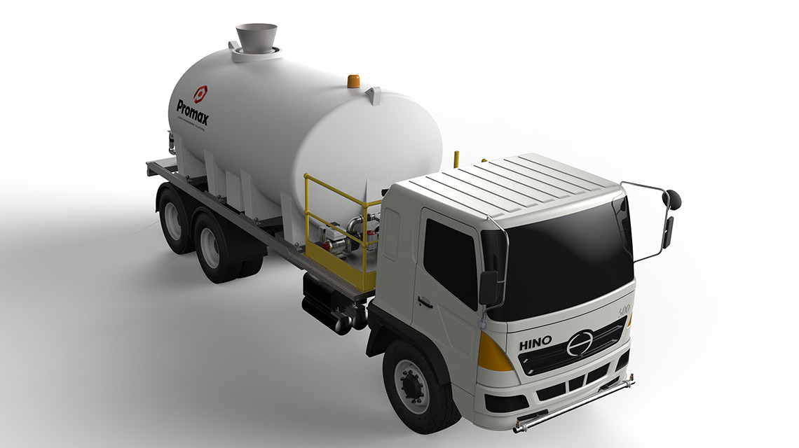 Chassis Mounted Dust Suppression Units