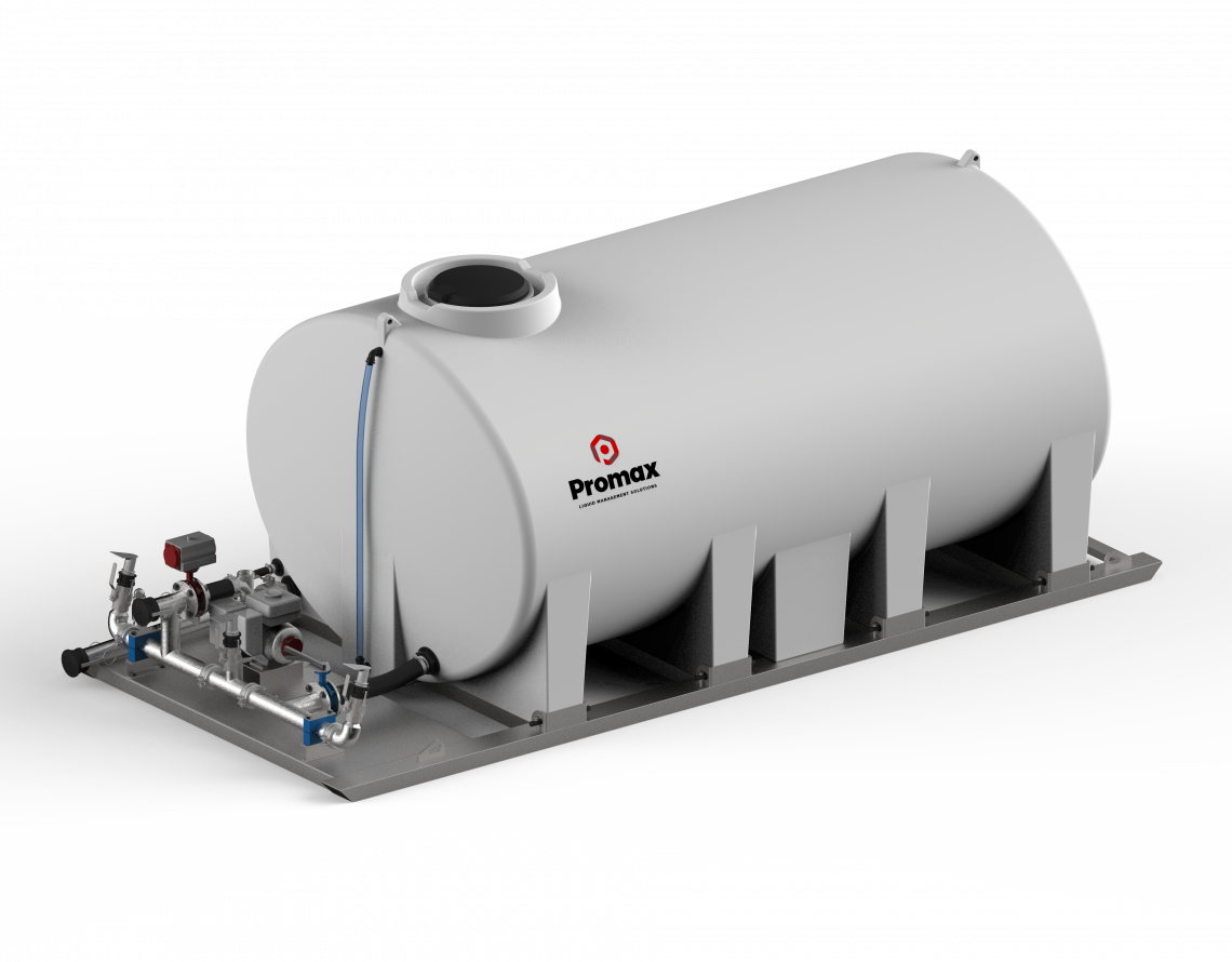 10000L Slip-On Dust Suppression Unit