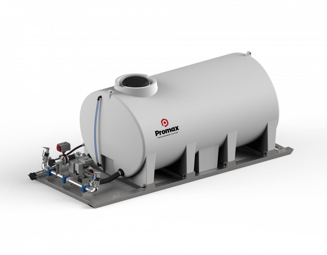 7000L Slip-On Dust Suppression Unit